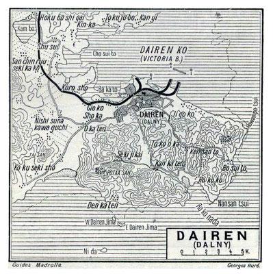 Dairen - 1912 map