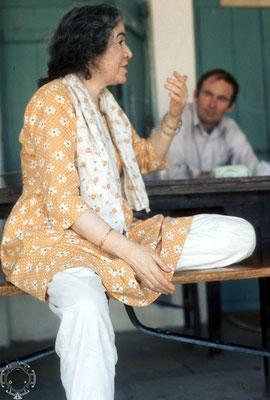 Mani with Walter Witkowski at Meherazad, India