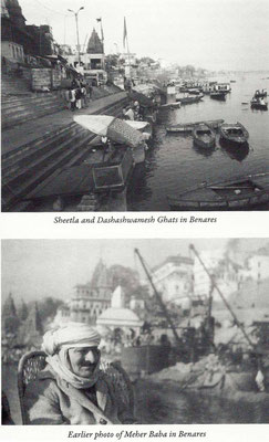 Courtesy of Meher Baba's New Life ; Bhau Kalchuri - ( top photo  : Bif Soper )