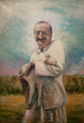 Avatar Meher Baba and the Fortunate Baby Goat - Jim Frisino