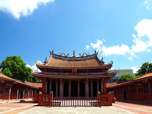 Tainan - Confucius Temple