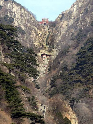 Mt. Tai - 6,500 Steps up to the top of the Holy Mountain