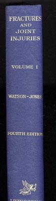 Book written by Sir Reginal Watson-Jones - Vol.1