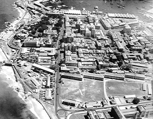 Etchelen Barracks, Colombo - 1945