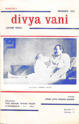 November  1972 - Front cover