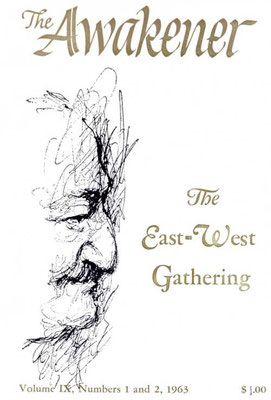 1. &  2. East-West Gathering 1963