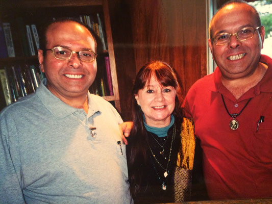 Raine with Rustom & Sohrab Irani