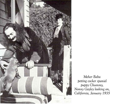 Lord Meher : page 1945 - California, January 1935