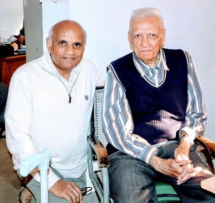 Murali Kalavapudi ( left ) with Ali Ramjoo in 2019.