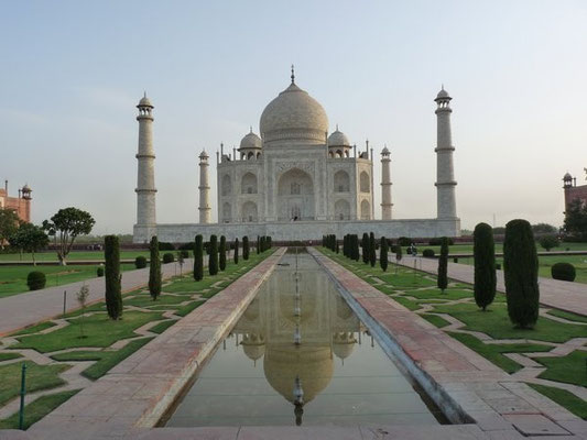 Taj Mahal - looking north