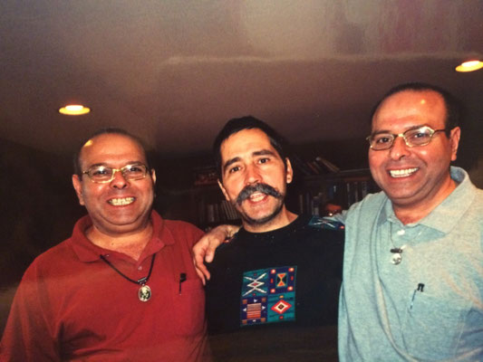 Bill with Rustom & Sohrab Irani