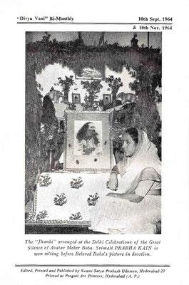 September-November 1964 - Back cover