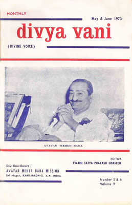May & June   1973 - Front cover