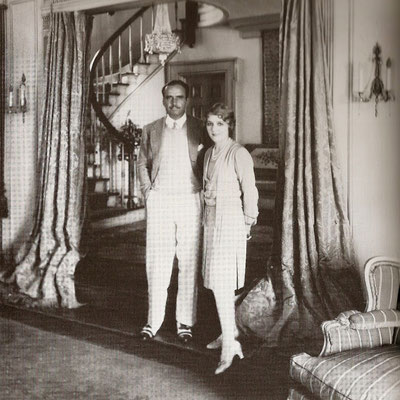 Douglas Fairbanks & Mary Pickford at Pickfair