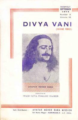 September   1974 - Front cover