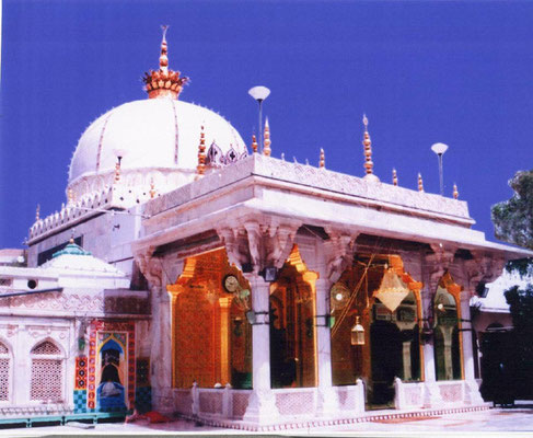 Shrine of Qutub Mu'inuddin Chishti in Ajmer