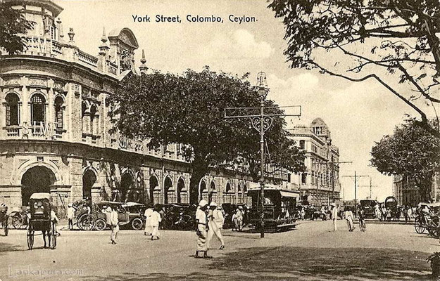 York St-Colombo-Ceylon-1920s