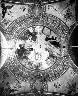Century Theatre - dome ceiling