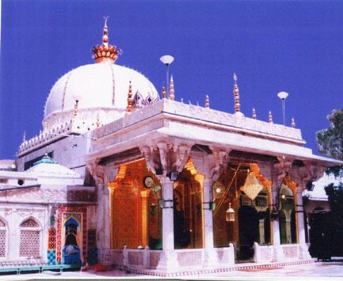 Shrine of Qutub Mu'inuddin Chishti in Ajmer