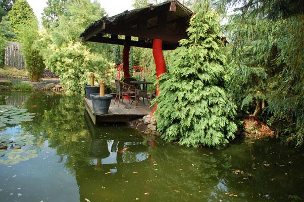 Traulogia im Japanischen Garten © Ina Homfeld