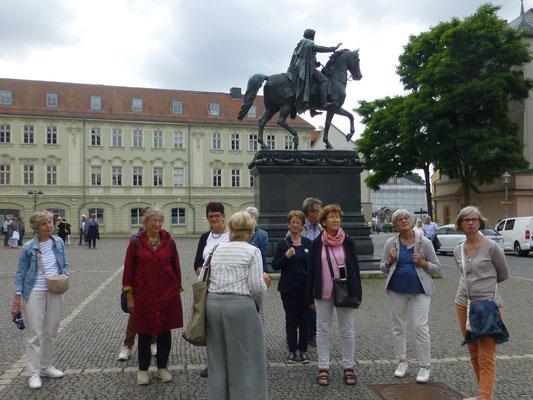 Stadtführung in Weimar  (© Ina Homfeld)