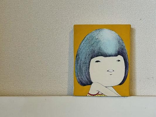 Girl (2018) / 180×140mm / ¥5,500- in tax