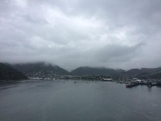 Einfahrt nach Picton