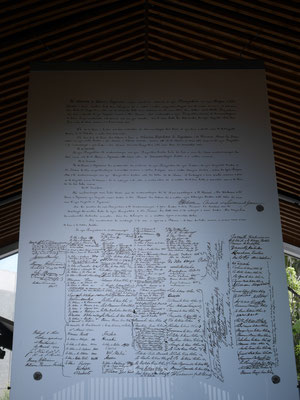 Kopie des Waitangi Vertrages