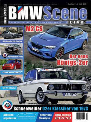 BMW SCENE Magazin Cover