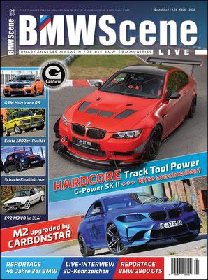 BMW SCENE Magazin Cover 04/20