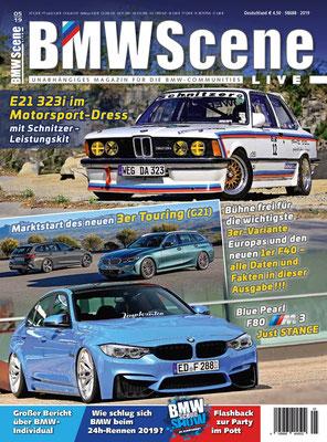 BMW SCENE Magazin Cover 05/19
