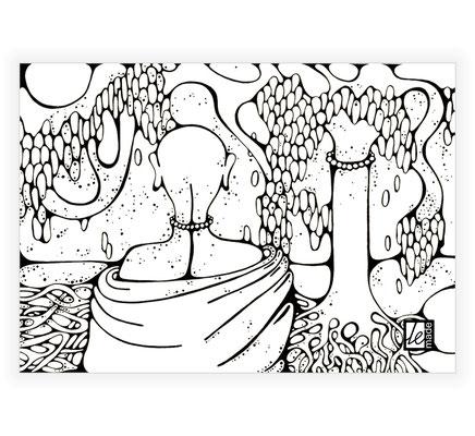 """""""Dzīvības koks"""" - LeMade, 2010. g. (kanvas kopija)"""