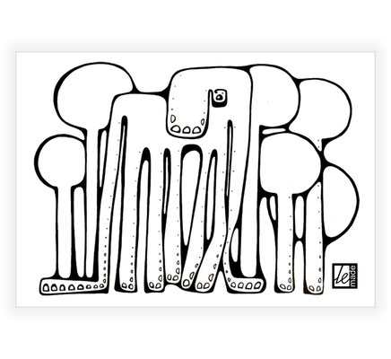 """Mans zīlonis"" - LeMade, 2010. g. (kanvas kopija)"
