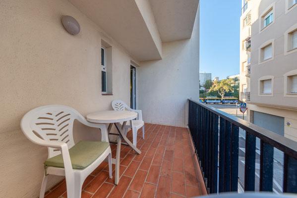 Balcón triple