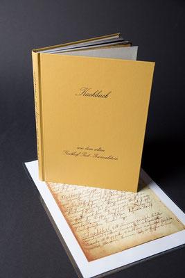 alte Kochbücher in Form von Kopien wieder neu zum Leben erwecken