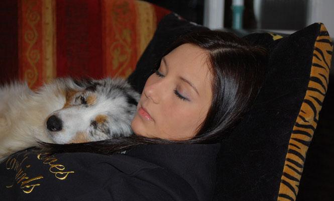 Schlafen mit Jani