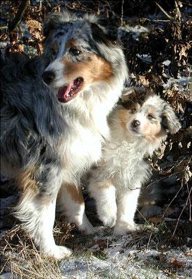Shannon mit Mama Tiny