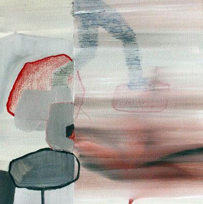 Utopia 77 | tecnica mista su tavola | 30x30 | 2015