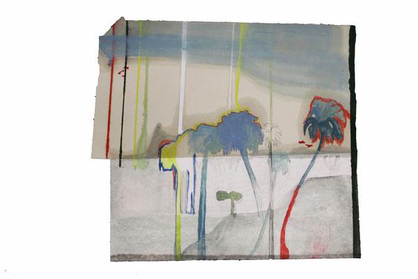Phoenix | tecnica mista su carte | 34x38 | 2017 | Collezione privata