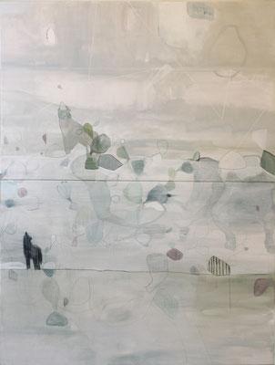 Eros Opuntia | tecnica mista su tela | 200x150 | 2016