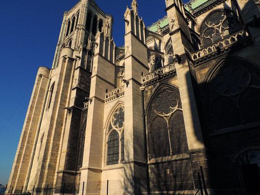 L'extérieur de la basilique