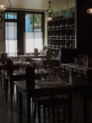 Le restaurant de l'Auberge Ravoux