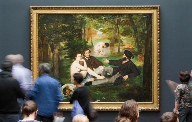 Le déjeuner sur l'herbe, Edouard Manet © Musée d'Orsay / Sophie Boegly