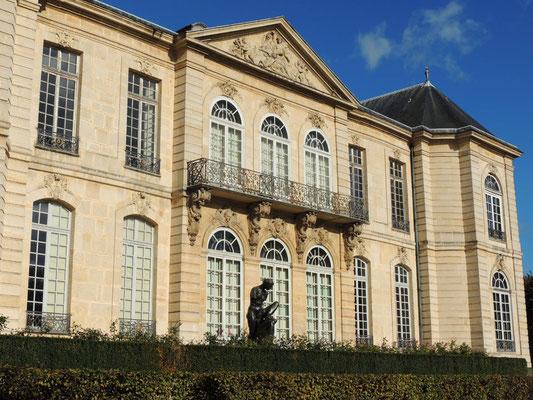 La façade arrière de l'Hôtel Biron