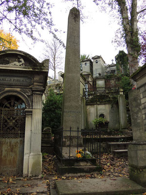 Tombe de Jean-François Champollion