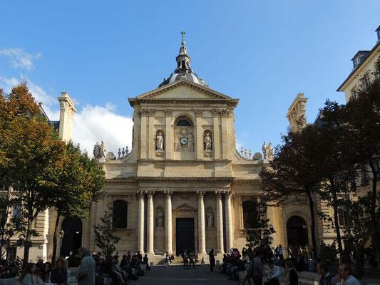 La piazza della Sorbona