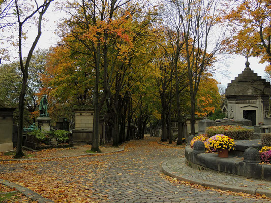 Vue du cimetière