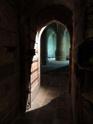 La cripta dei grossi pilastri