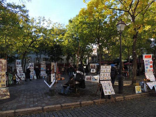 La piazza dei Tertres