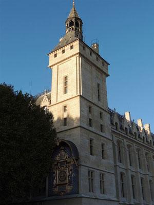 La Tour carrée de l'Horloge